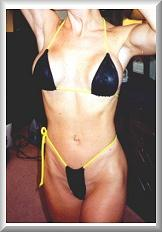 Front After Breast Augmentation Bikini