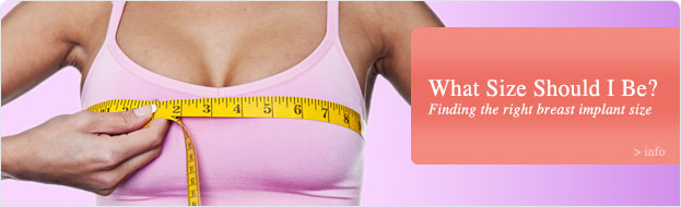How to choose breast implant size